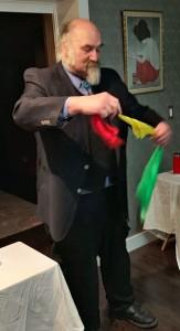 Jim Macdonald, Magician