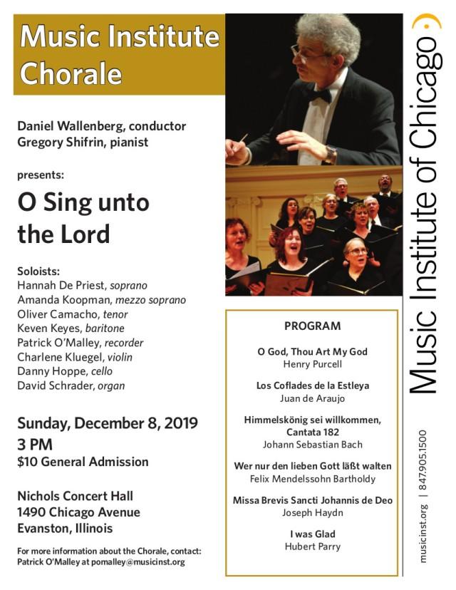 08DEC19 Chorale Performance